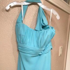 Light blue formal dress size 12